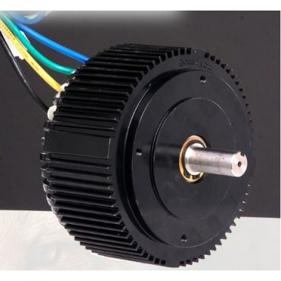 Trakční motor HPM-5000B 2-7 kW/ 48V - vzduchem chlazený