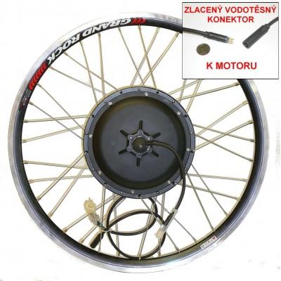 BLDC motor 750-1000W, přední kolo
