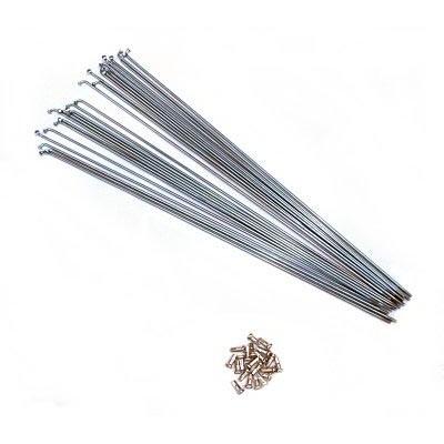 Dráty výpletu kola - 2,3 x 129 mm