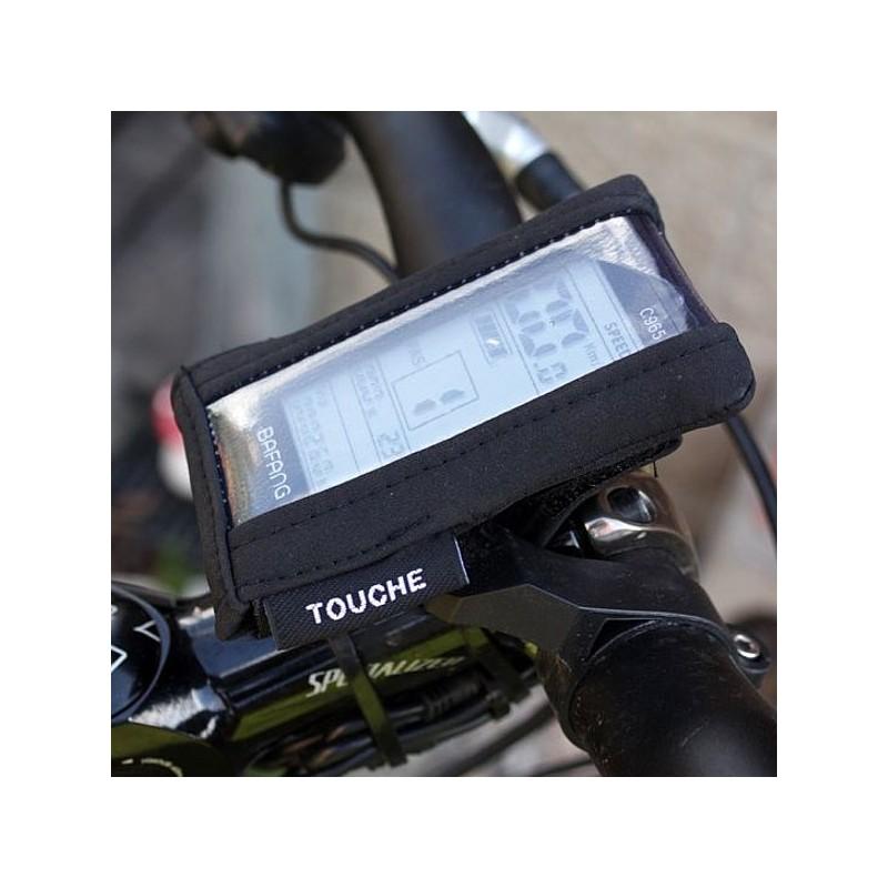 kryt LCD displeje EVBIKE ochrana proti mokru a blátu
