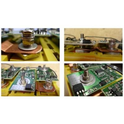 Nerezova sada pro upevnění BMS modulu (6mm)