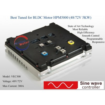 Regulátor VEC300 72V/300A sin-wave