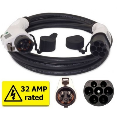 Nabíjecí kabel J1772 - Mennekes 32 A, 5m