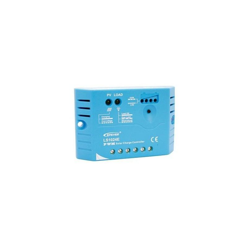 Solární PWM regulátor 12/24 V, 10 A, vstup 30V/50V (LS1024E)