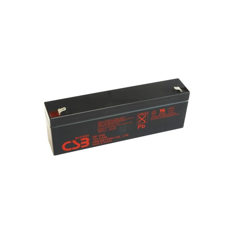 akumulátor CSB GP1222 12V 2,2Ah