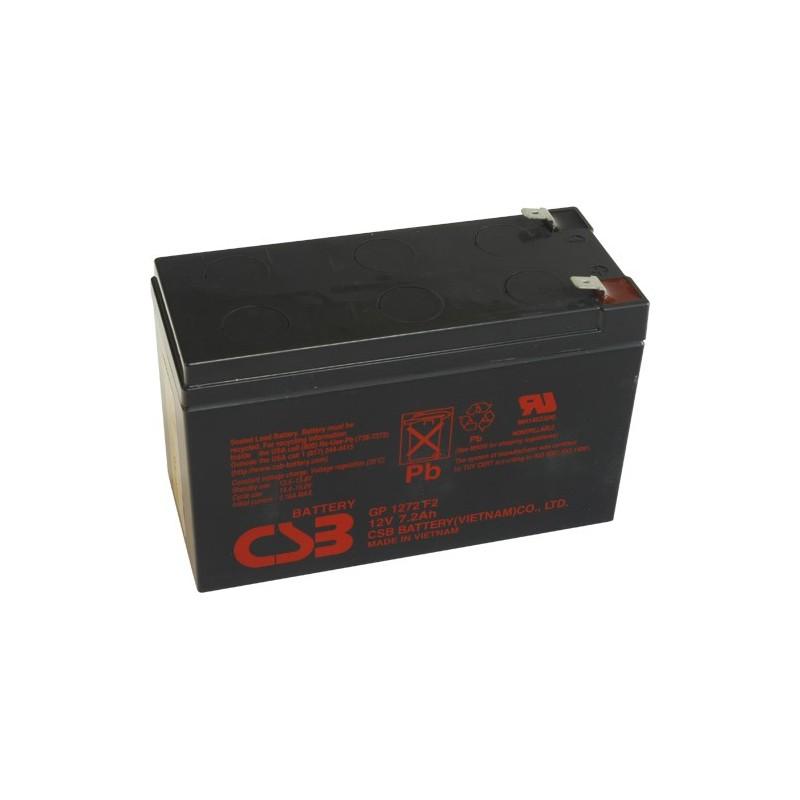 akumulátor CSB GP1272F2 12V7,2Ah