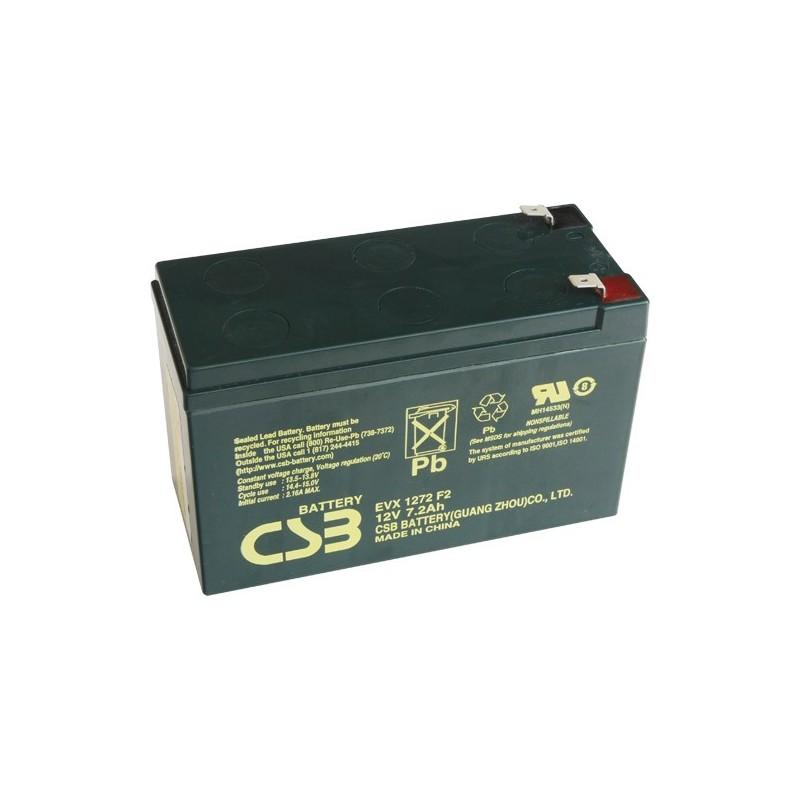 akumulátor CSB EVX1272 F2 12V7,2Ah