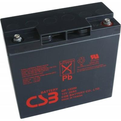 akumulátor CSB GP12200 12V 20Ah