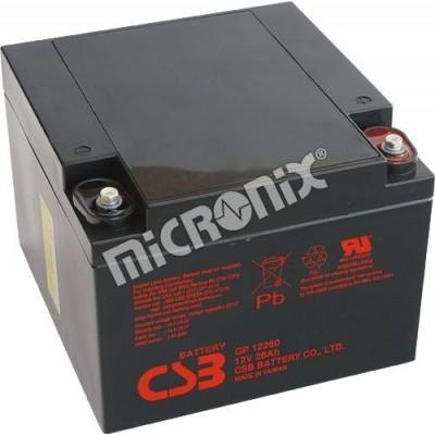 akumulátor CSB GP12260 I 12V 26Ah