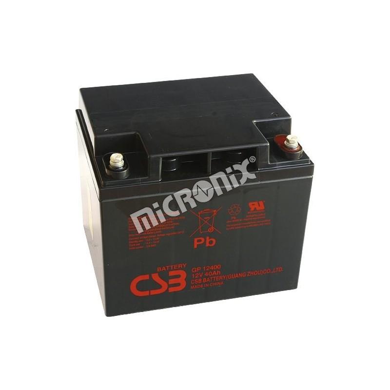 akumulátor CSB GP12400 I 12V 40Ah )