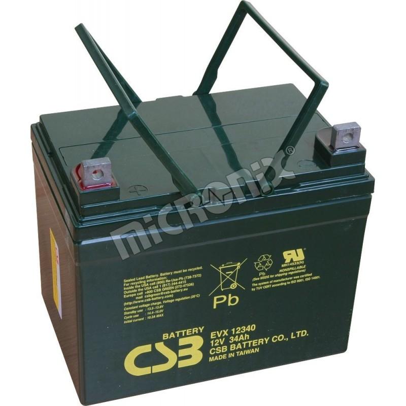akumulátor CSB 12V 34Ah EVX12340