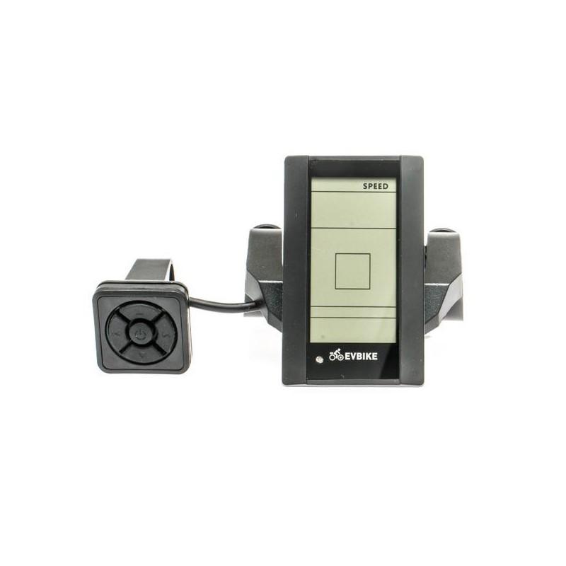 LCD Displej C965 pro EVBIKE středový pohon 36/48V - svislý