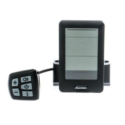 LCD Displej C10 pro EVBIKE středový pohon 36/48V - USB