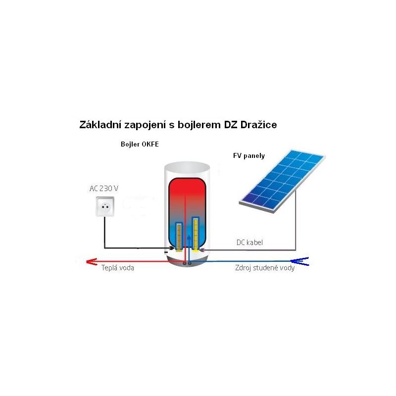 Ohřev vody pomocí solárního bojleru, dotace nzú