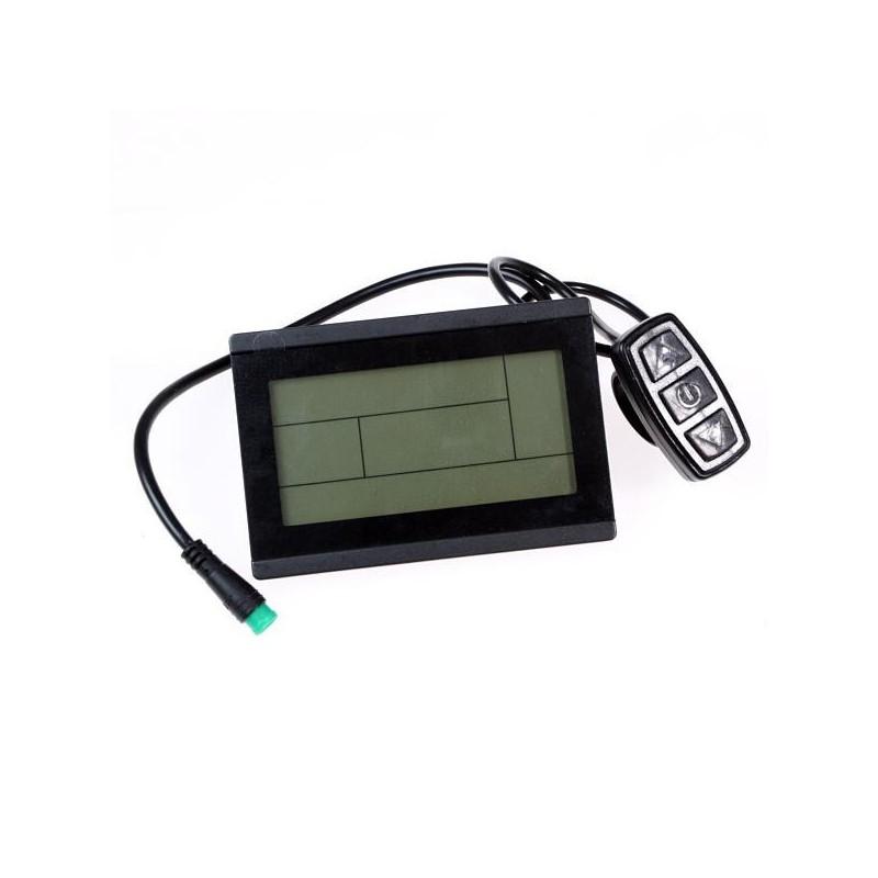 LCD Displej pro EVBIKE s ovládáním intenzity příšlapu (MR15)