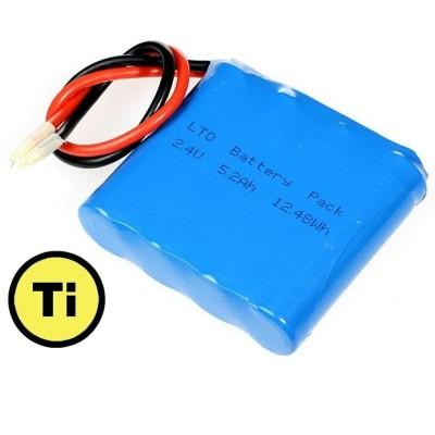 Baterie LTO 1865 2.4V 5200 mAh (Lithium Titanate)