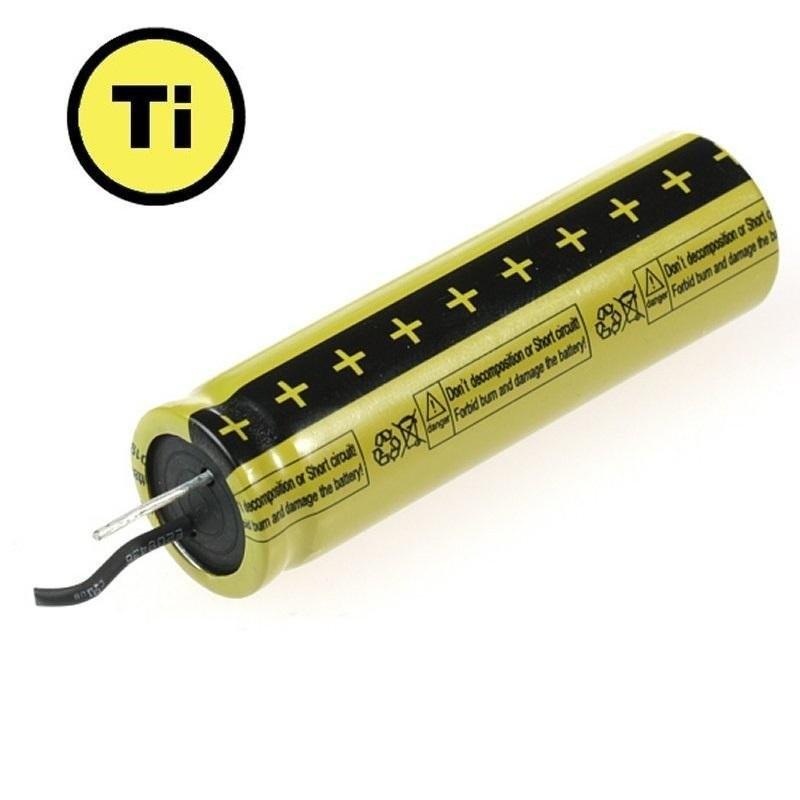 Baterie LTO 1865 2.4V 1,3 Ah