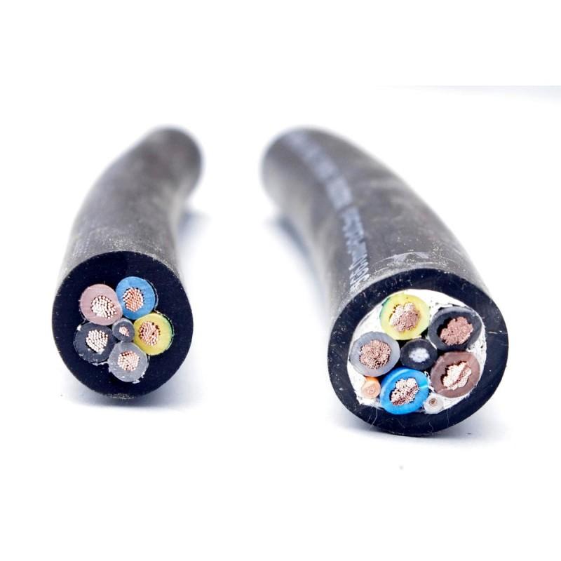 Kabel pro EV 5x4mm 3 fáze