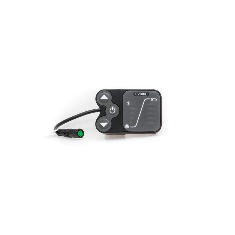 LED Displej E12 EVBIKE středový pohon 36/48V - USB, Bluetooth