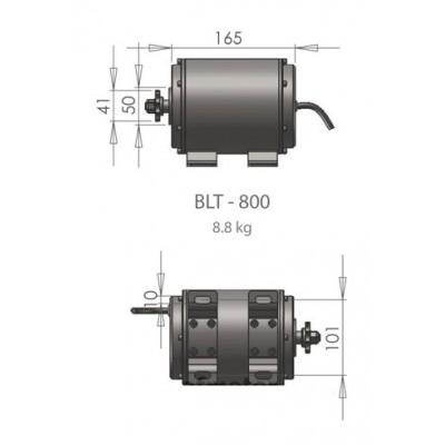 Trakční motor BLT-800 48V/800W