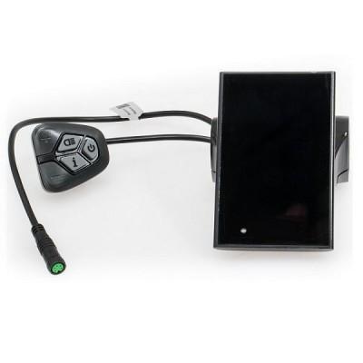 Barevný LCD Displej C18 pro EVBIKE středový pohon 36/48V - USB