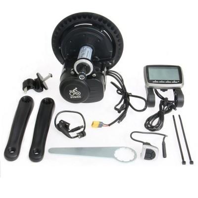 EVBIKE středový pohon 500W, 36V, LCD displej, torzní snímač