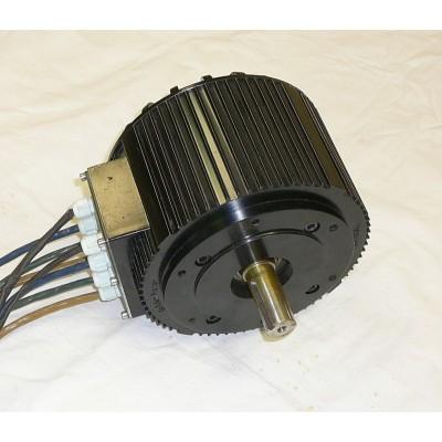 Trakční motor HPM 10 kW 72V - vzduchem chlazený