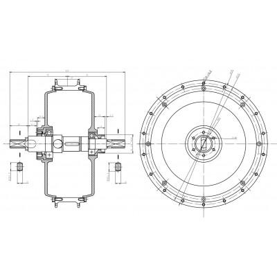 Motor 3000W BLDC QS V3