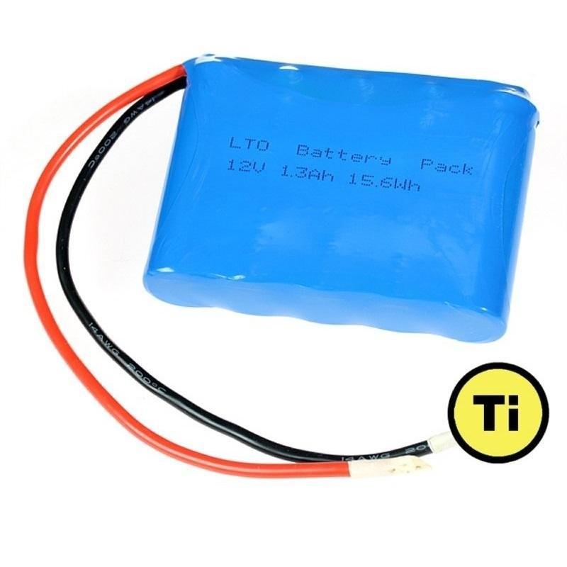 LTO1865 baterie 12V 1300 mAh, 15.6Wh (Lithium Titanate)