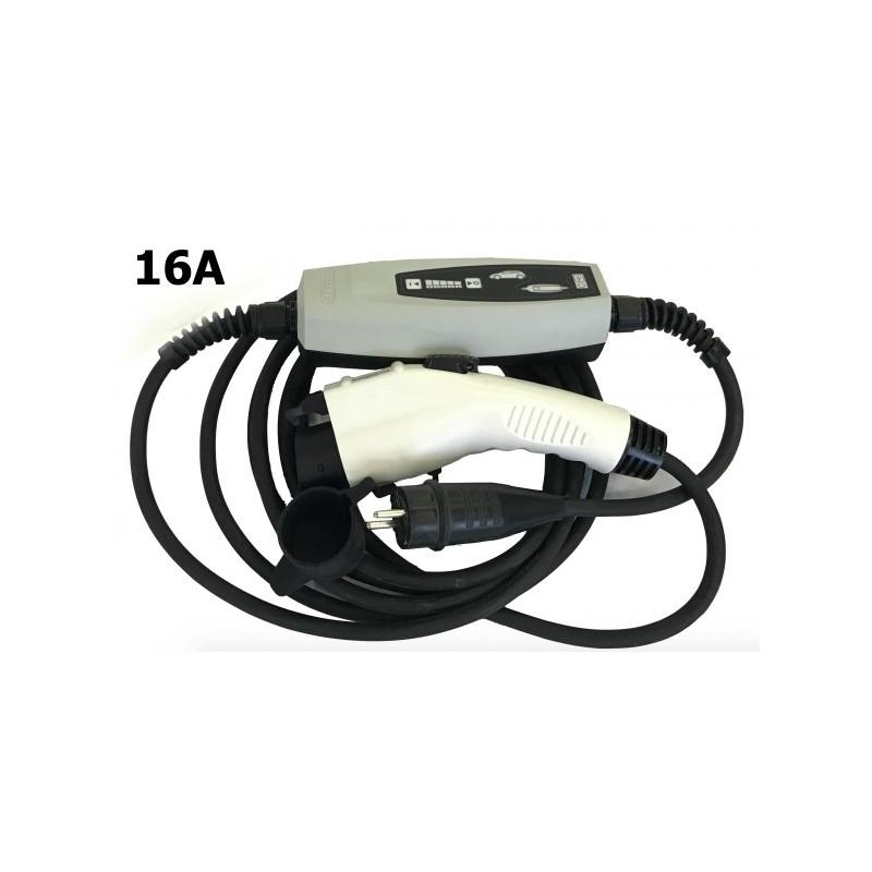 Nabíječka pro elektromobily 16A EVSE Type 1