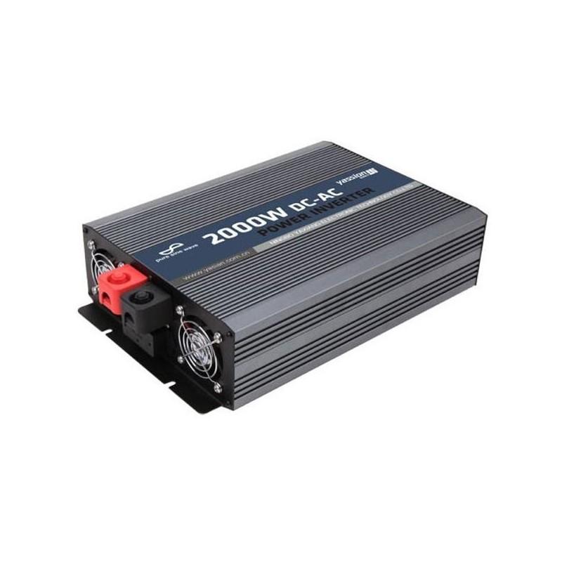 Měnič s nabíječkou 48V/230V 2000W, 5A, čistá sinus