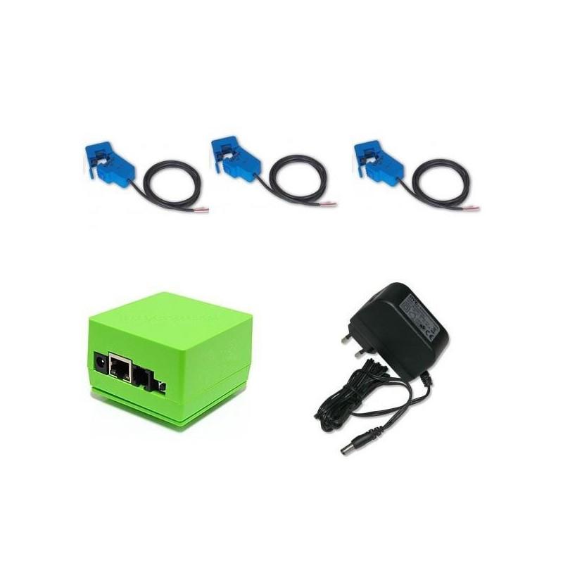 Sada s LAN ovladačem v3 pro měření 3fázové spotřeby
