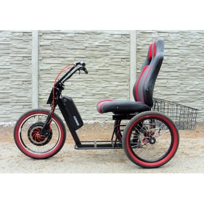Elektrický invalidní vozík, tříkolka