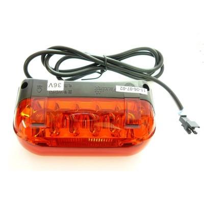 Zadní světlomet LED 48V 7-LED