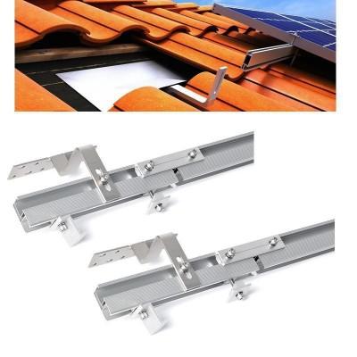 Kompletní držák SC pro uchycení 2ks panelů na šikmou střechu (hák)