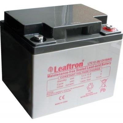 akumulátor Leaftron LTC12-38 12V 38Ah