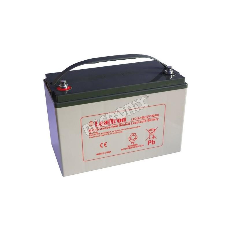 akumulátor Leaftron 12V 100Ah LTC12-100