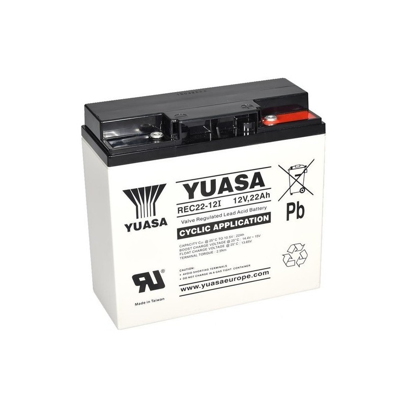 akumulátor Yuasa 12V 22Ah