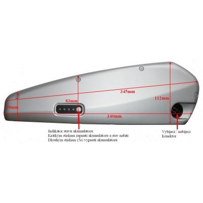 Přetavbový kit 8FUN 250W středový + akumuláto
