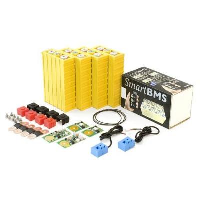 Set 12V, 1.56kWh LiFeYPO4 pro stavbu bateriového úložiště