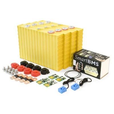 Set 12V, 4,8kWh LiFeYPO4 pro stavbu bateriového úložiště