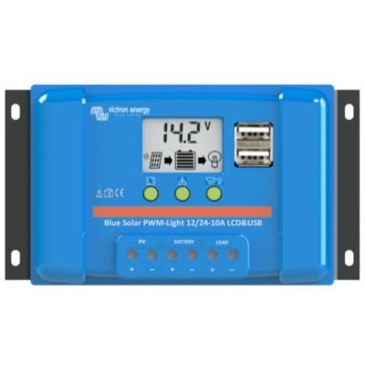 PWM solární regulátor Victron Energy LCD&USB 5A