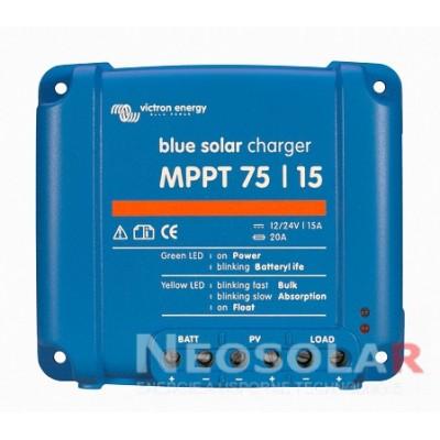 MPPT solární regulátor Victron Energy 15A 75V