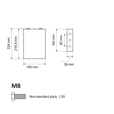 Baterie LiFePO 3.2V 110Ah