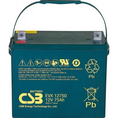 akumulátor 12V 75Ah CSB EVX12750