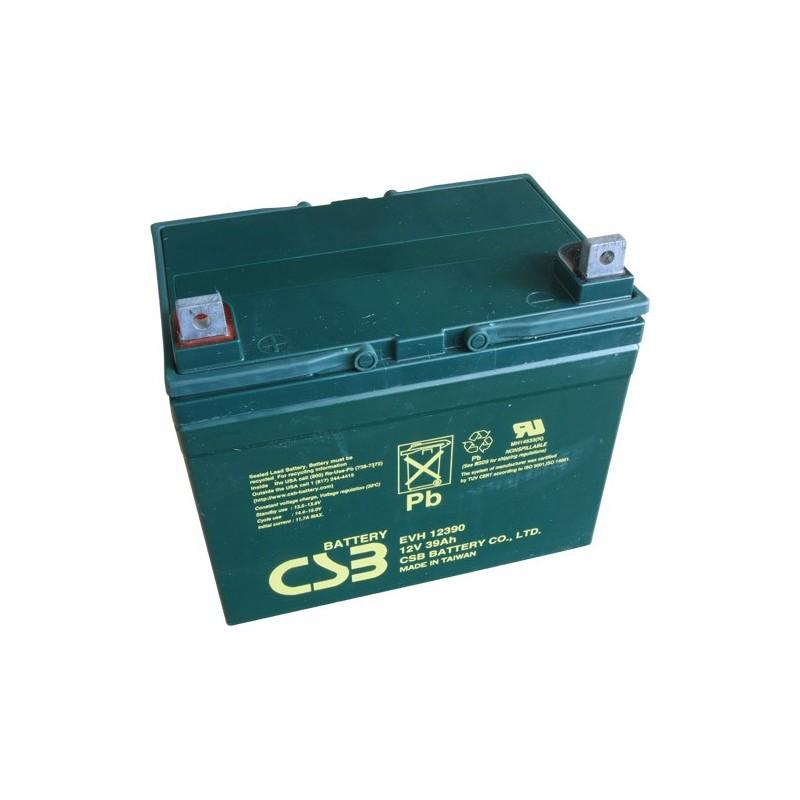 Akumulátor CSB EVH 12390 (12V/39Ah)