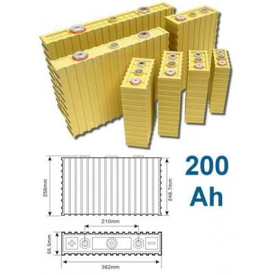 Baterie LiFeYPO4 3.2V 200Ah