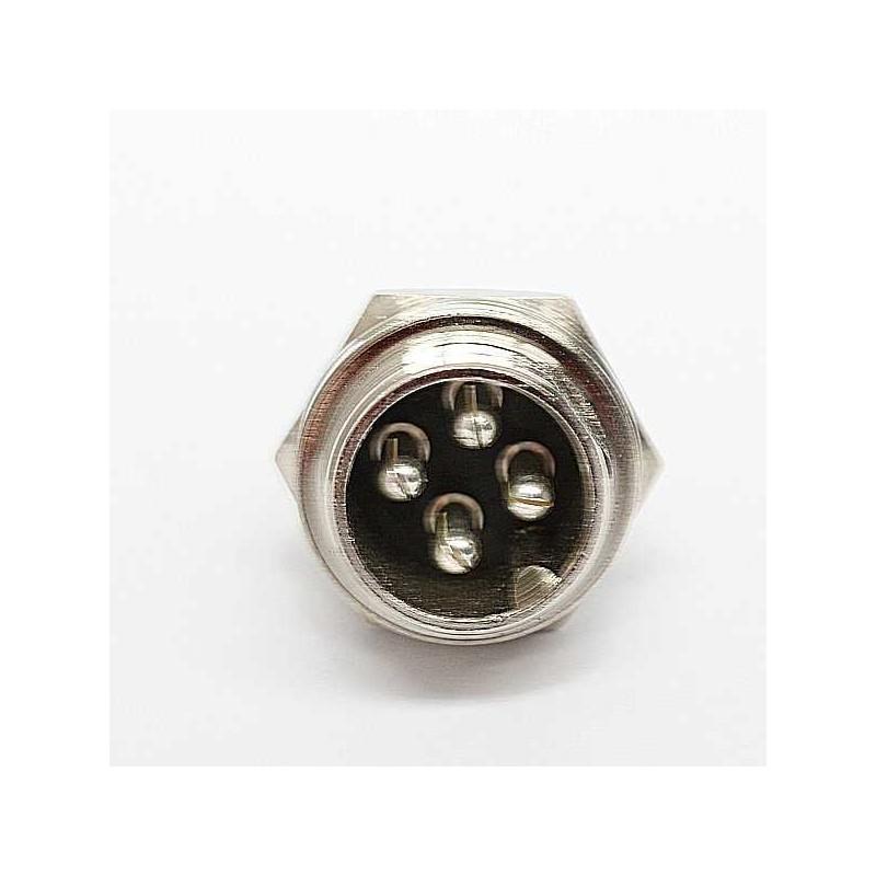 EVBIKE - Konektor 4 PIN - protikus (MALE)