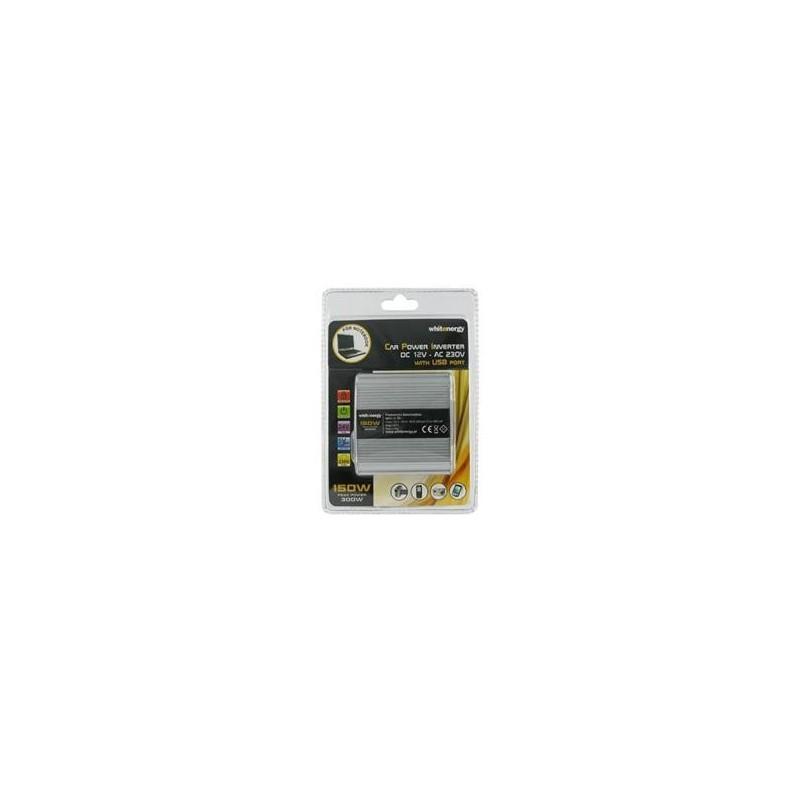 Napěťový měnič DC/AC 12/230V 150 W, s USB
