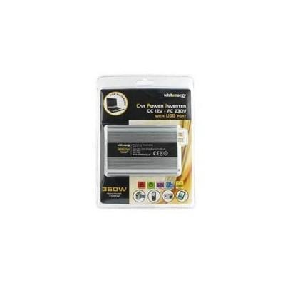 Napěťový měnič DC/AC 12V/230V 350W, USB